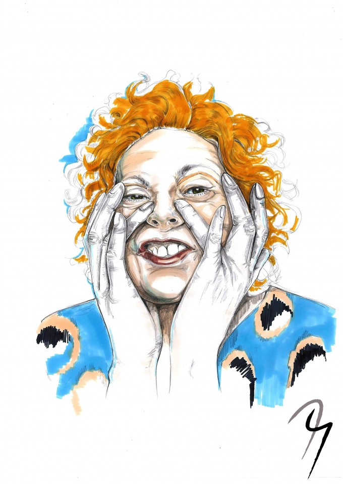 Vivienne Westwood, Fashion Illustration by Nejla Yilmaztürk