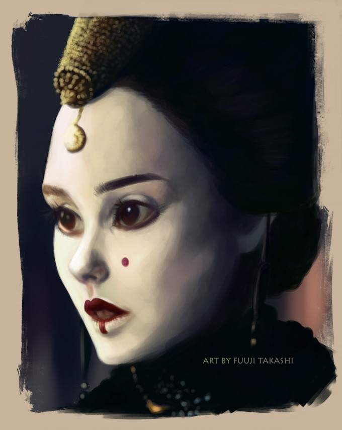 Portrait of Queen Amidala