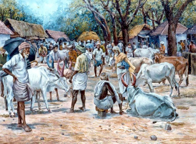 Cattle Market of Tamilnadu