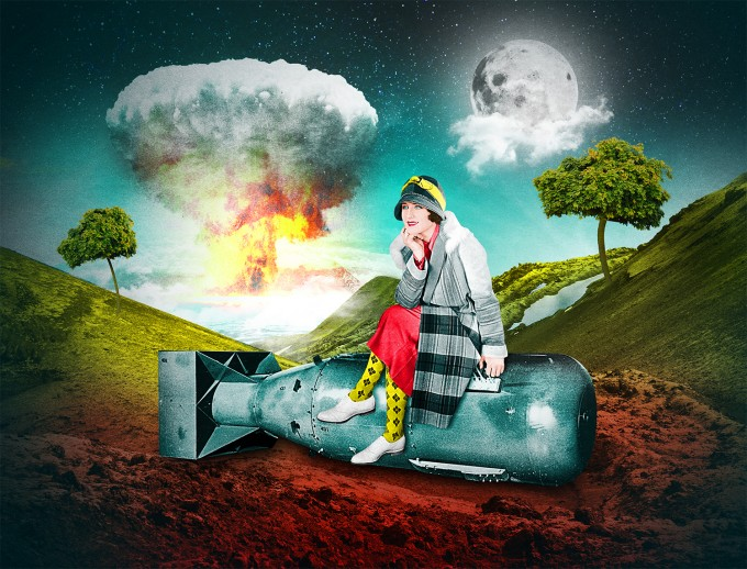 Vintage Surrealism Digital Collage Art Art People Gallery