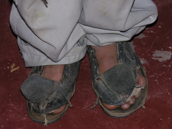 Ragged Shoes