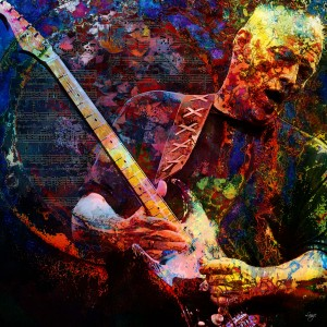 David Gilmour by Christian L. Lange