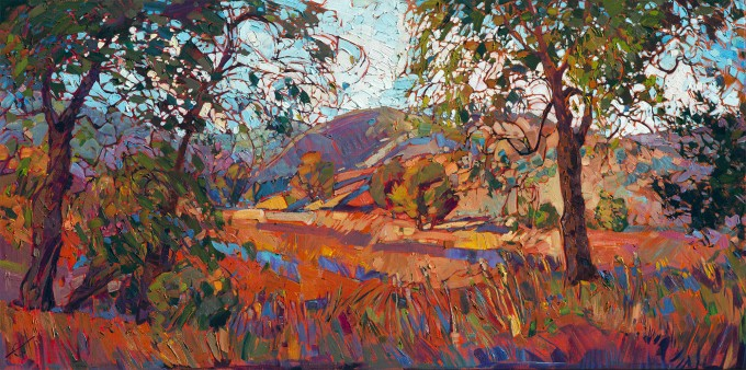 Paso Robles California Landscape by Erin Hanson