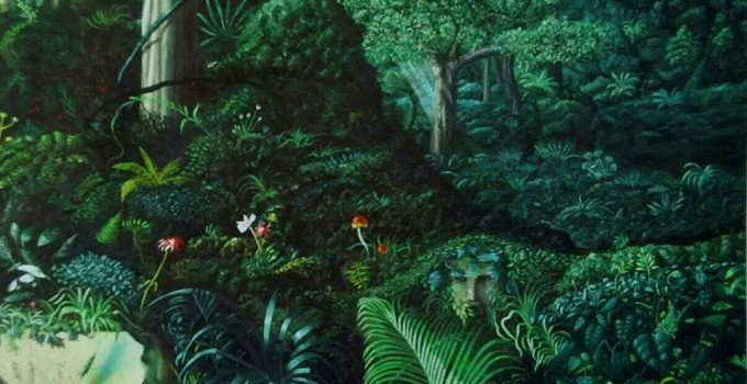 Jungle (150x200 cm- 69.4x79.8 inches)