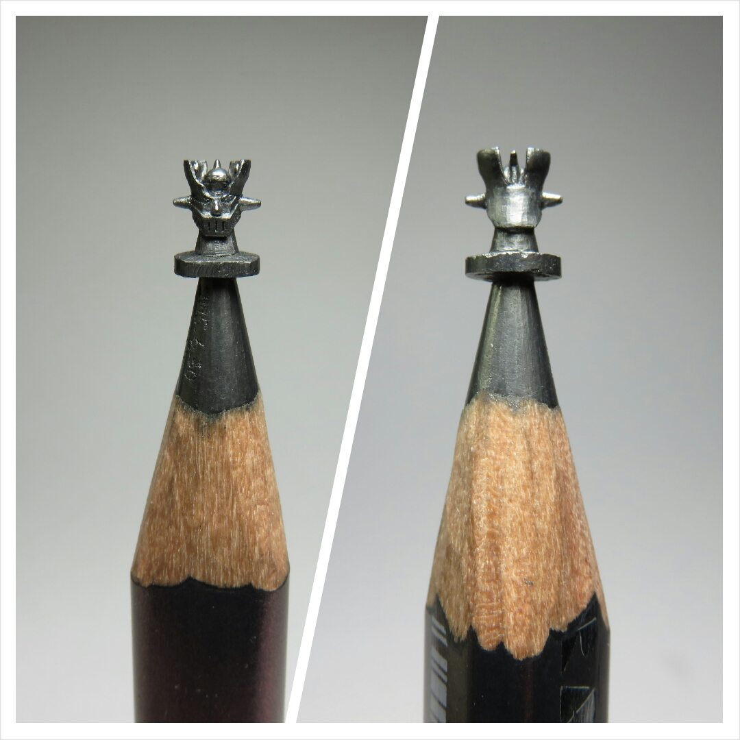 Pencil carving art people gallery