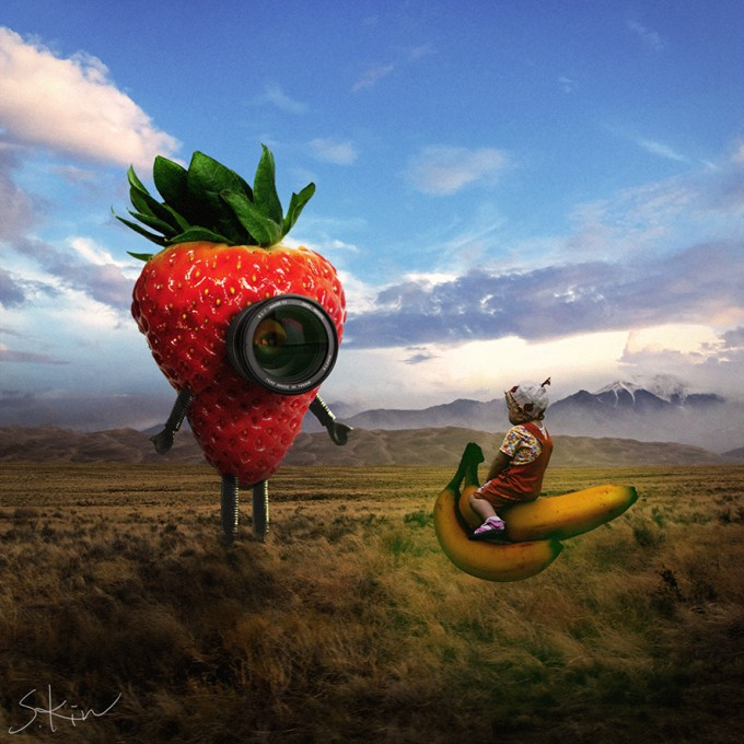 Strawberry robot
