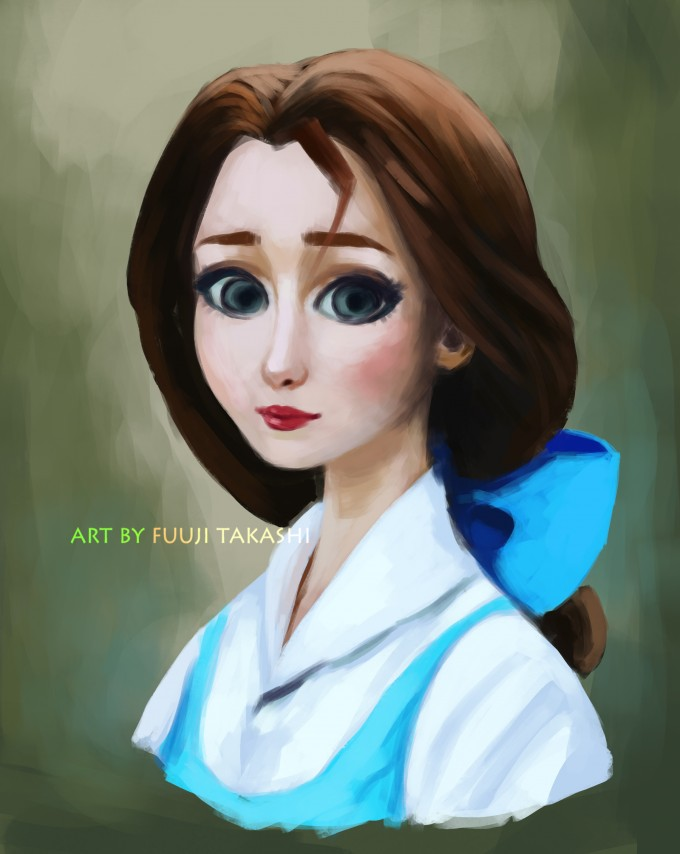 My version of Belle from Beauty and the Beast