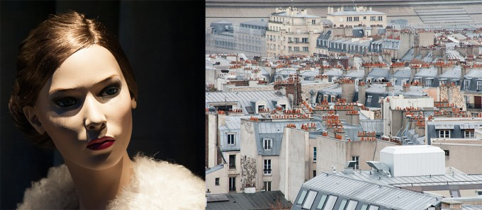 paris, rooftops, mannequin, paris after the attack, art as healing, art as therapy