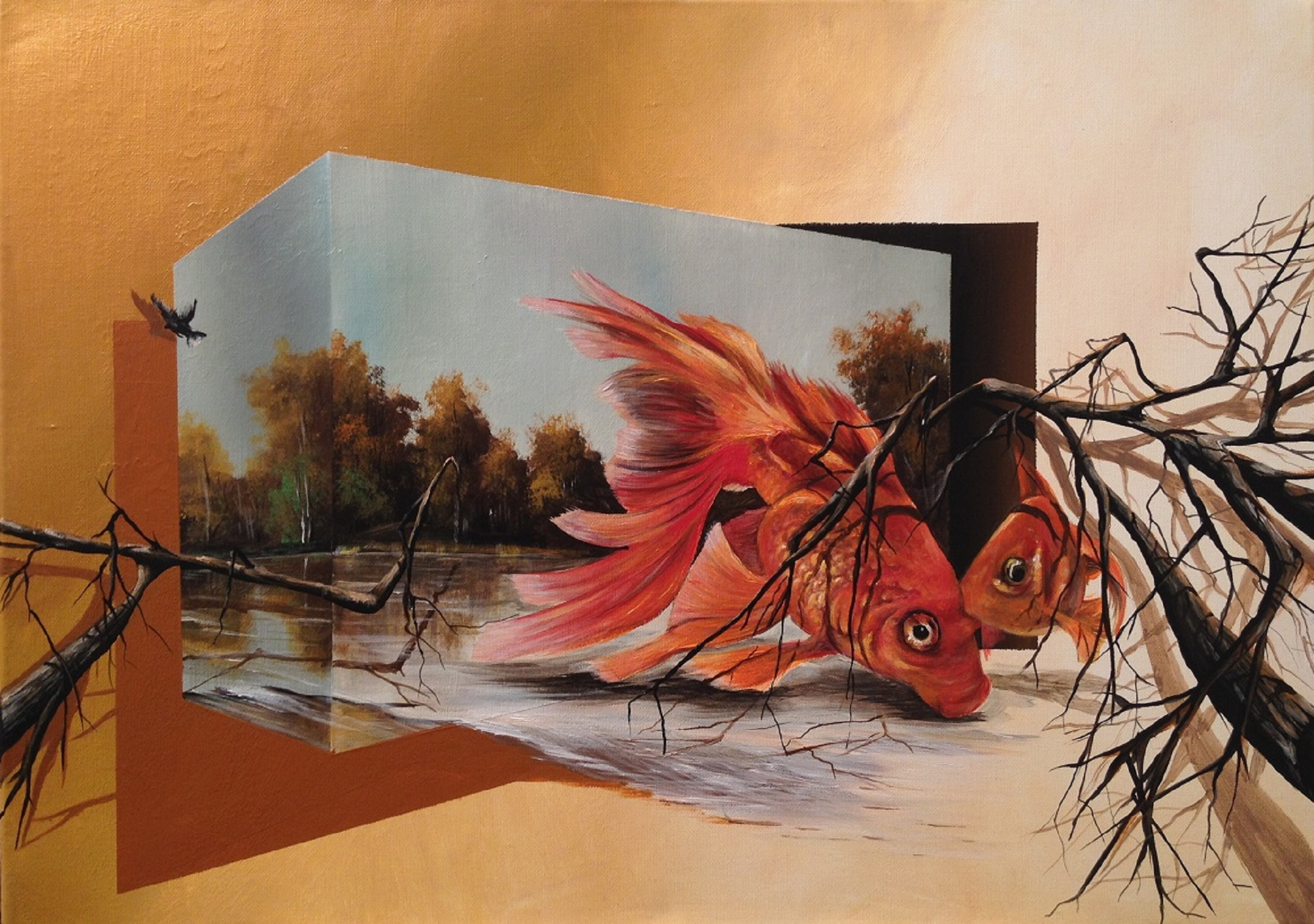 3d Painting Eka Peradze 2 Art People Gallery