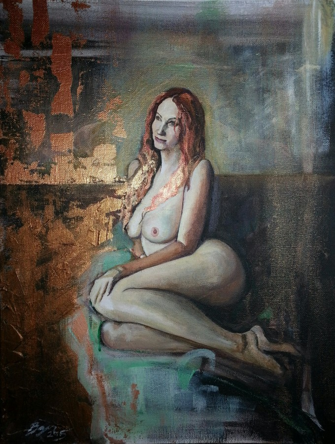 Figurative paintings by Bryn Sutcliffe