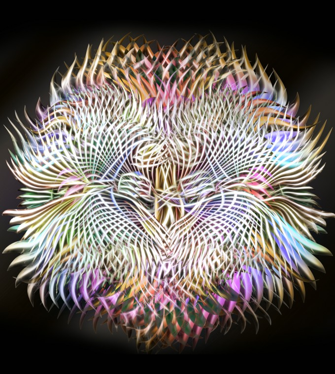 Abstract Anemone