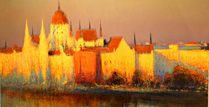Andrew Gifford |  Impressionist Cityscape Painting