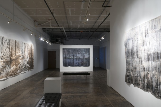 Installation view of show, Remembrance: Drink While the Water is Clean