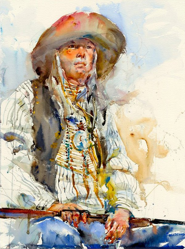 Watercolor Paintings By Charles Reid Art People Gallery