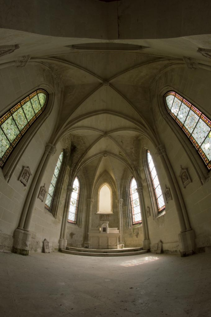 Chateau de la Mothe-Chandeniers chapel