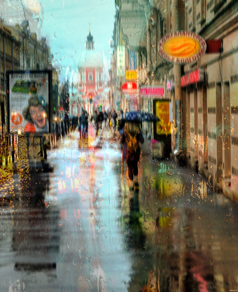Impressionist Cityscape Photographer 2 By Eduard Gordeev
