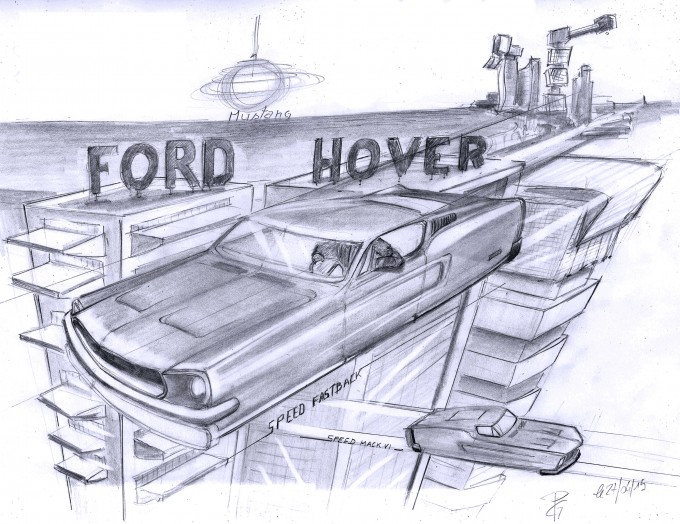 Ford Mustang Hover