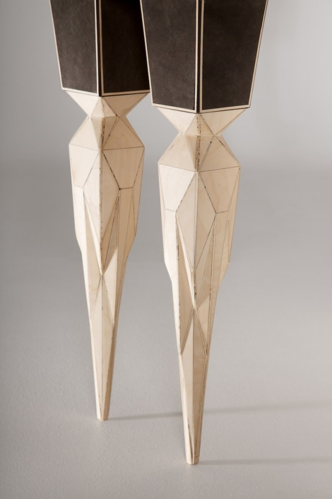 Jasser-Studio-Geometric-Leather-Cabinet-Skin-Collection-Leg-Detail