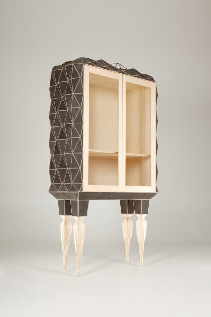 Jasser-studio-geometric-leather-cabinet-wood