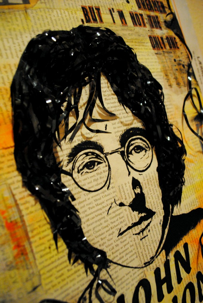John Lennon - George Cosmin - BASM mixed media 2