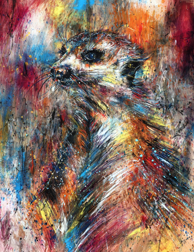 The mischievous Meerkat, by Emily Tan