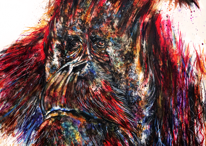 The WWF Orang-utan, by Emily Tan