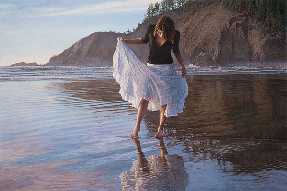 Steve Hanks: inspirational and romantic watercolors 12