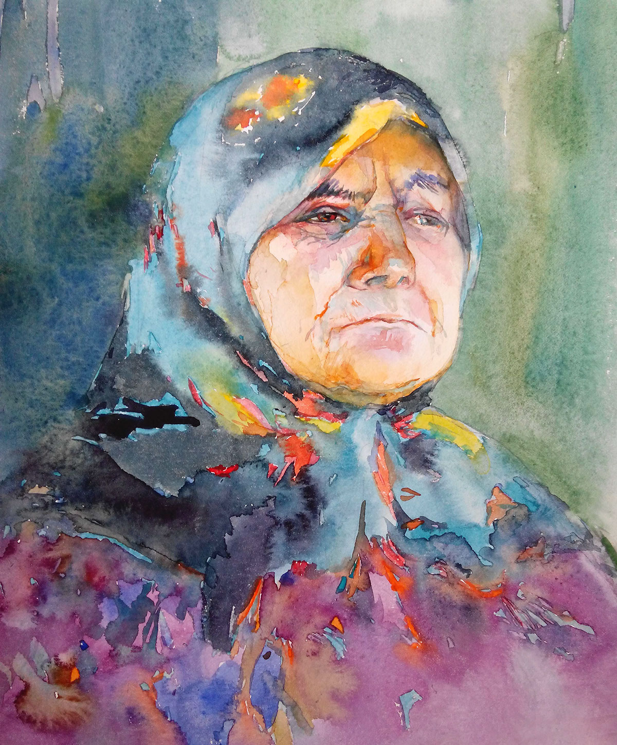amazing watercolor portraits by tatsiana zayats art