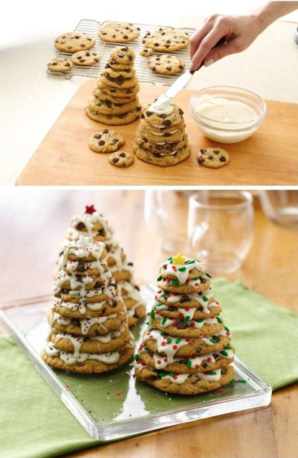 chocolate-chip-cookie-christmas-tree