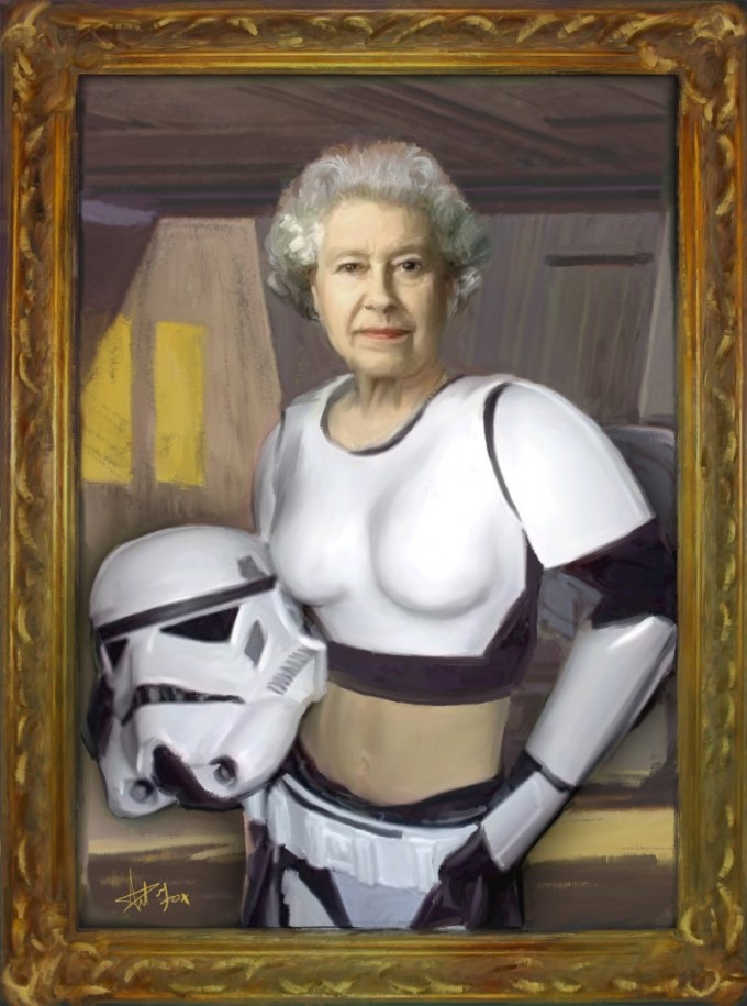 Queen Stormtrooper