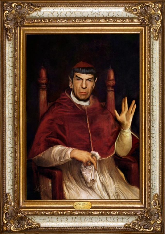 Pope Spock