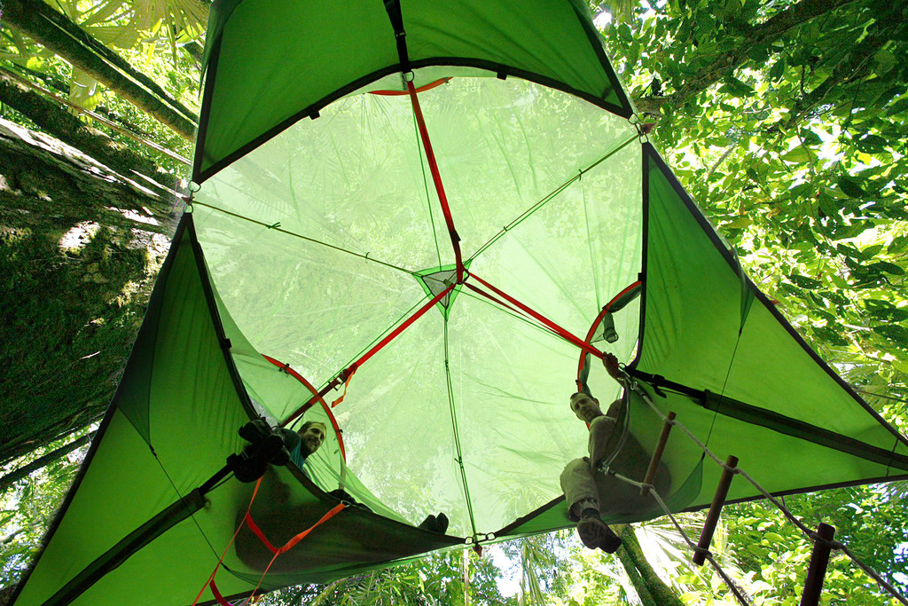 tent-4 & Tentsileu0027s dreamy camp in the air with Suspended Treehouses Tents ...
