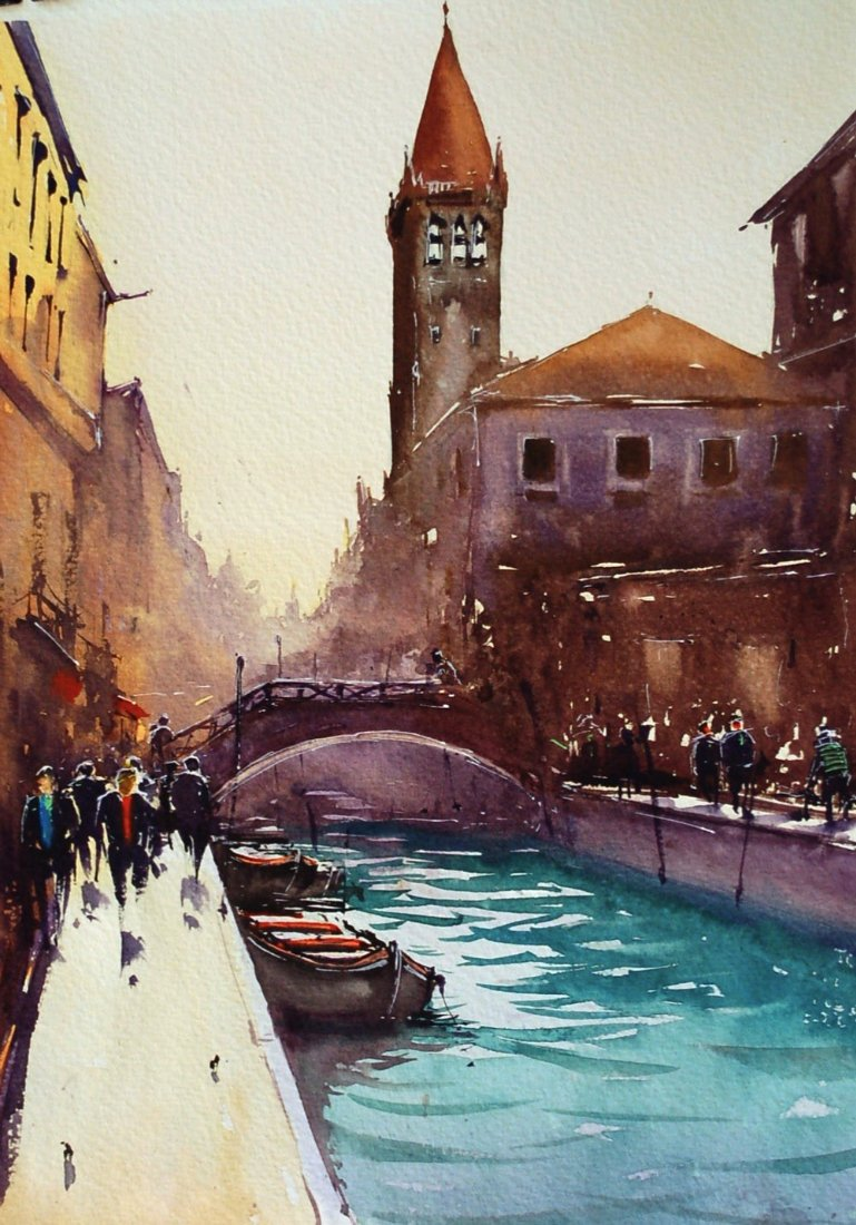 Watercolor By Joseph Zbukvic Art People Gallery