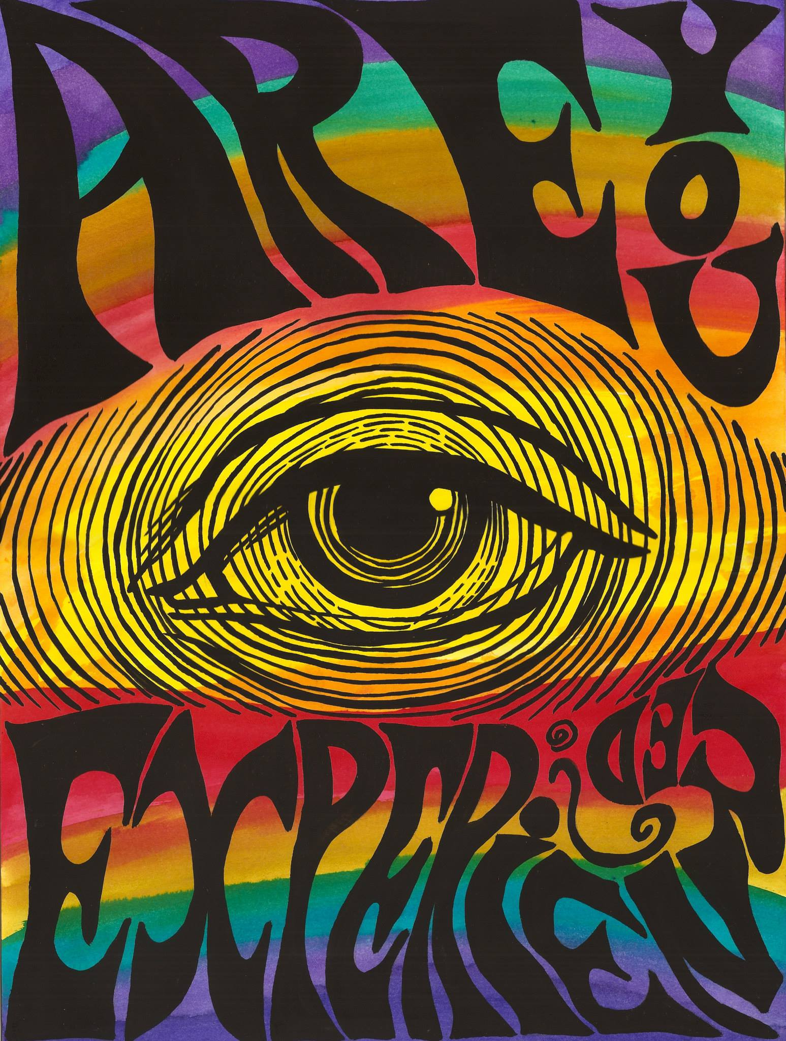 Psychedelic Artworks Art People Gallery