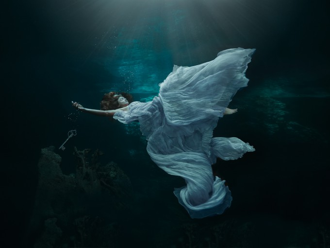 Leaving all the secrets-UNDERWATER WORLD by Lucie Drlikova