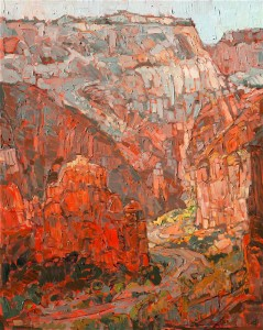 Angels Landing by Erin Hanson, 2015
