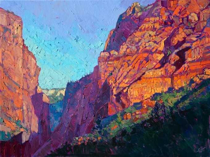 Kolob Majesty by Erin Hanson, 2015. Zion National Park.
