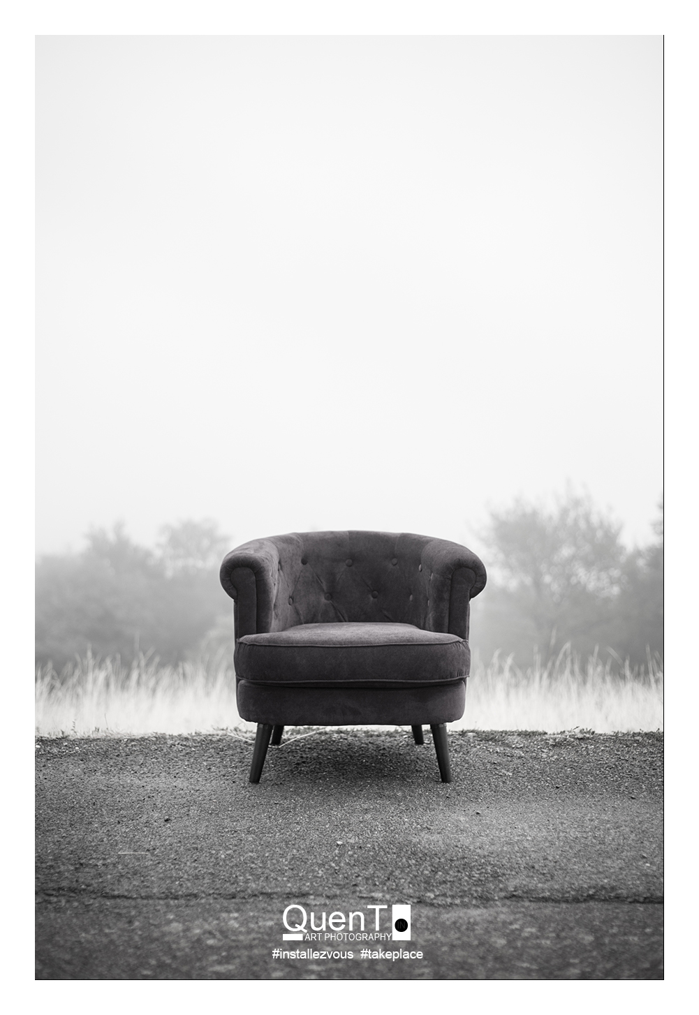 Black and white chair photography - The Trip Of The Chair By Quent