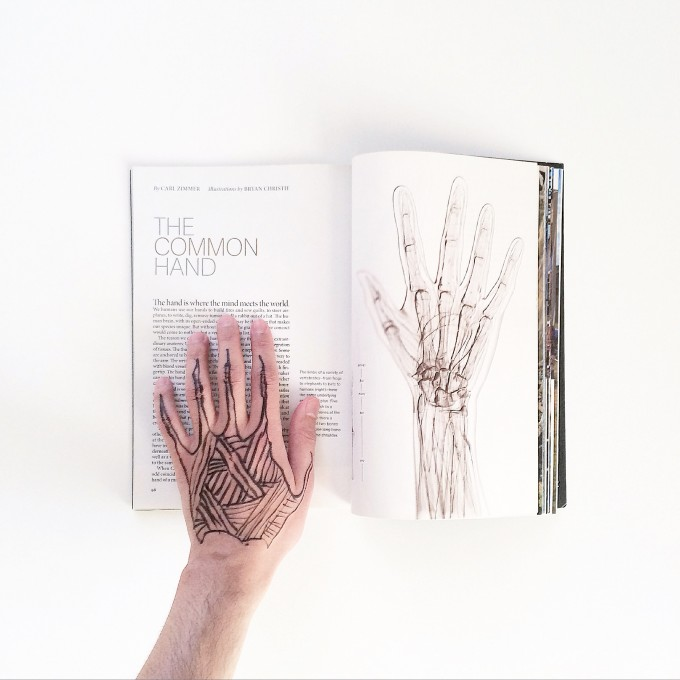 The common hand, and the uncommon one.