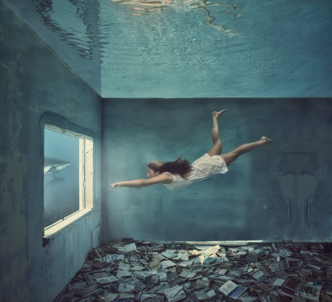 Alice in the Waterland-UNDERWATER WORLD by Lucie Drlikova