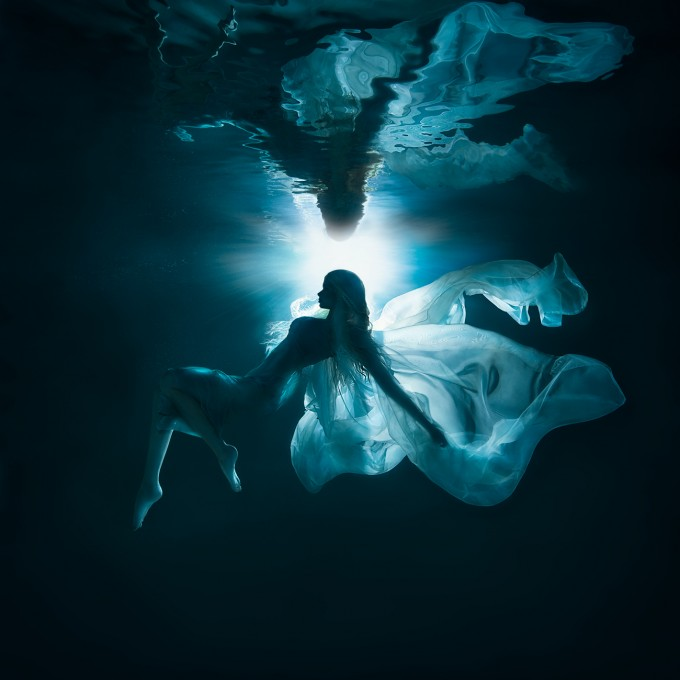 MOONLIGHT-UNDERWATER WORLD by Lucie Drlikova