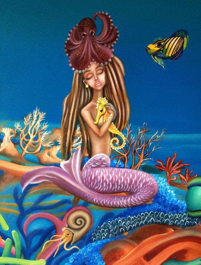 Mermaids in wonderland http://www.babakarts.com/