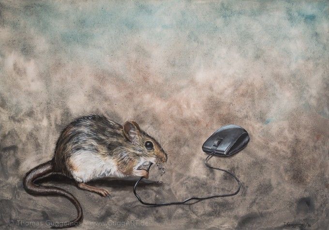 Systemadministrator, system administrator, Painting, malerei, Acrylics, Acryl, Guggemos