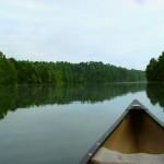 Canoeing Tim's Ford (Tim's Ford Lake, Franklin County, TN)