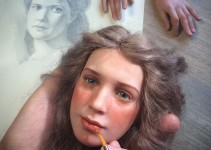 realistic-doll-faces-polymer-clay-michael-zajkov-