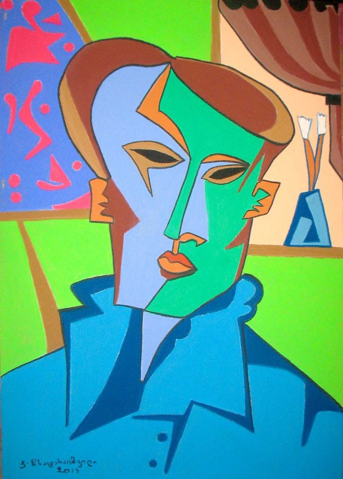 young Picasso's portrait-7000euro