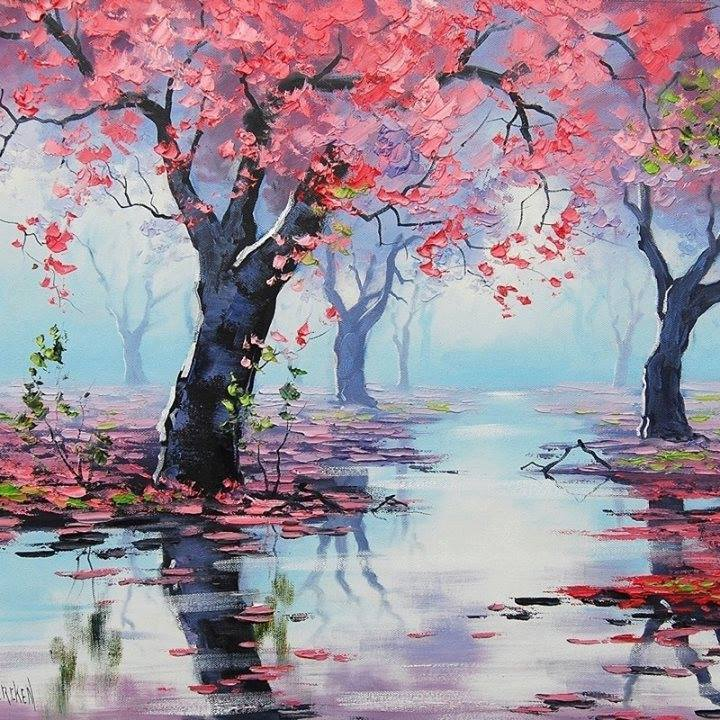 Award Winning Australian painter Graham Gercken Landscape painter
