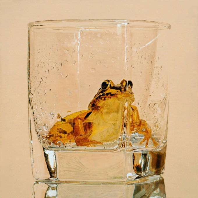 Nothing.Life.Object,Oil on canvas,74x74cm,2012