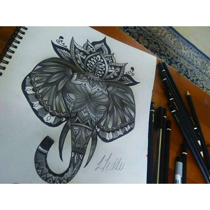 Ink Tattoo Tattooing Black White Pen Pencil Design Art Artist
