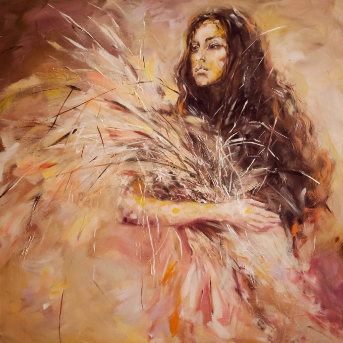 Agnes Liping_120x120cm_Oil on canvas